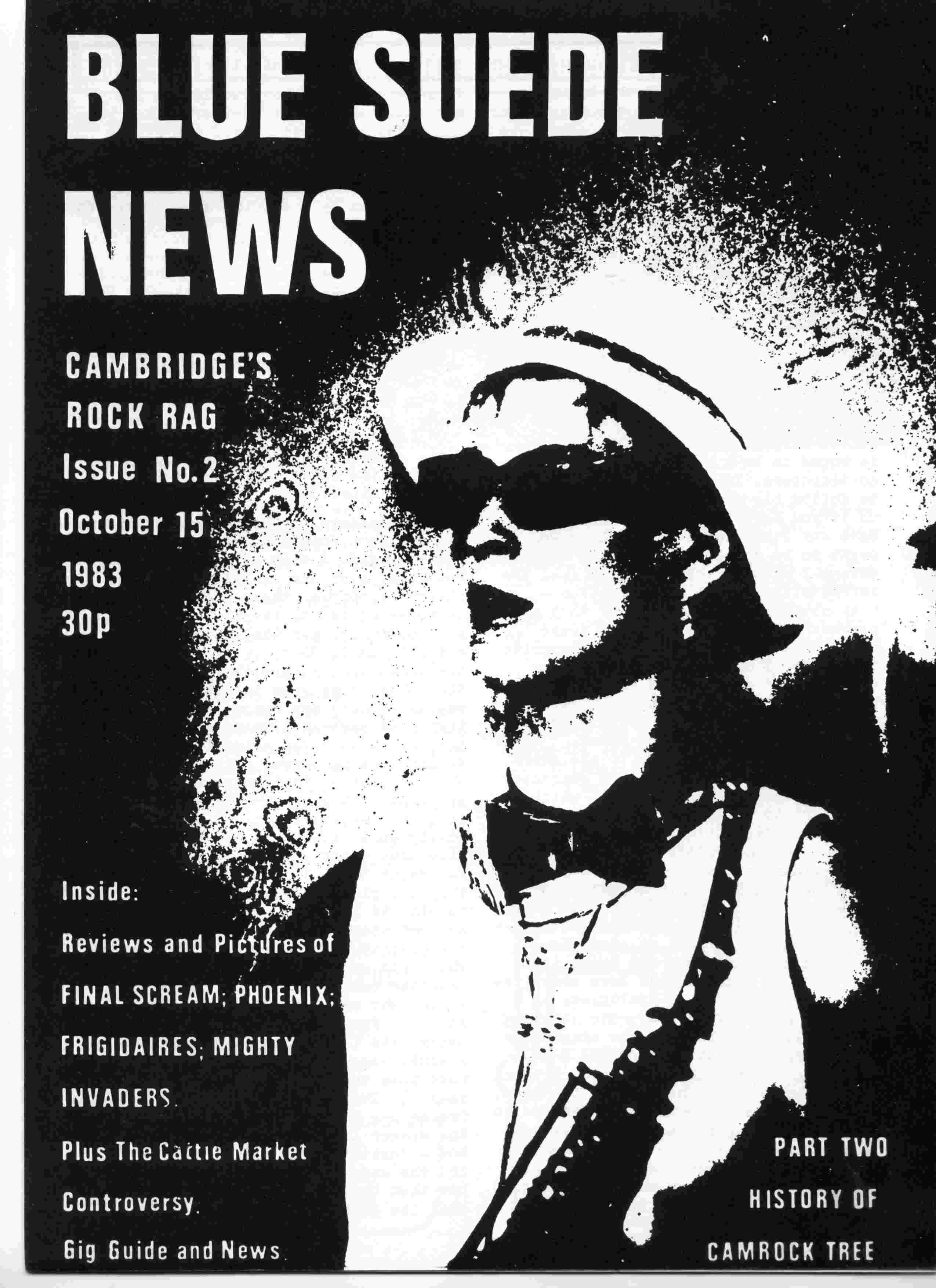 Cover of Blue Suede News Issue 2