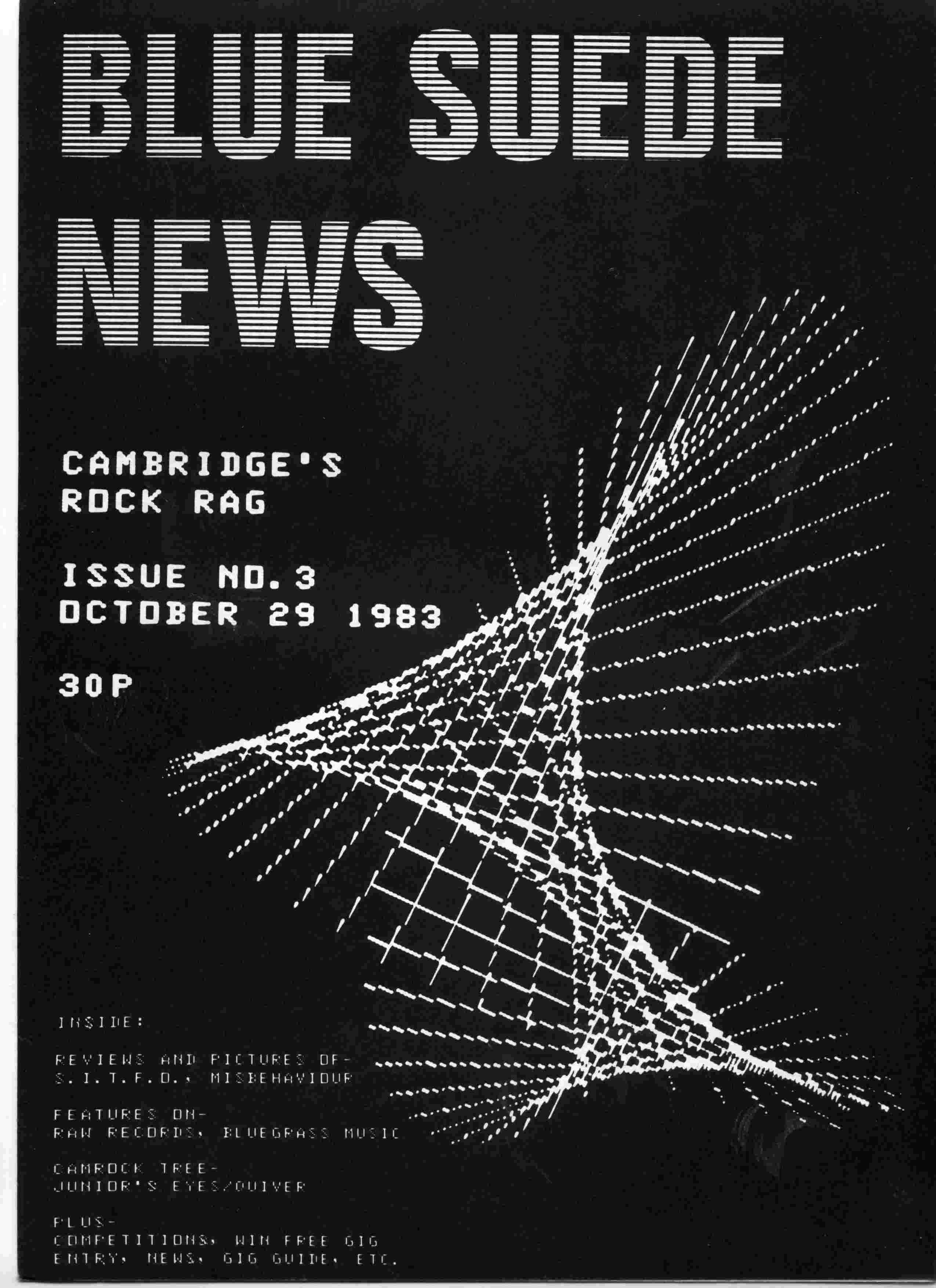 Cover of Blue Suede News Issue 3