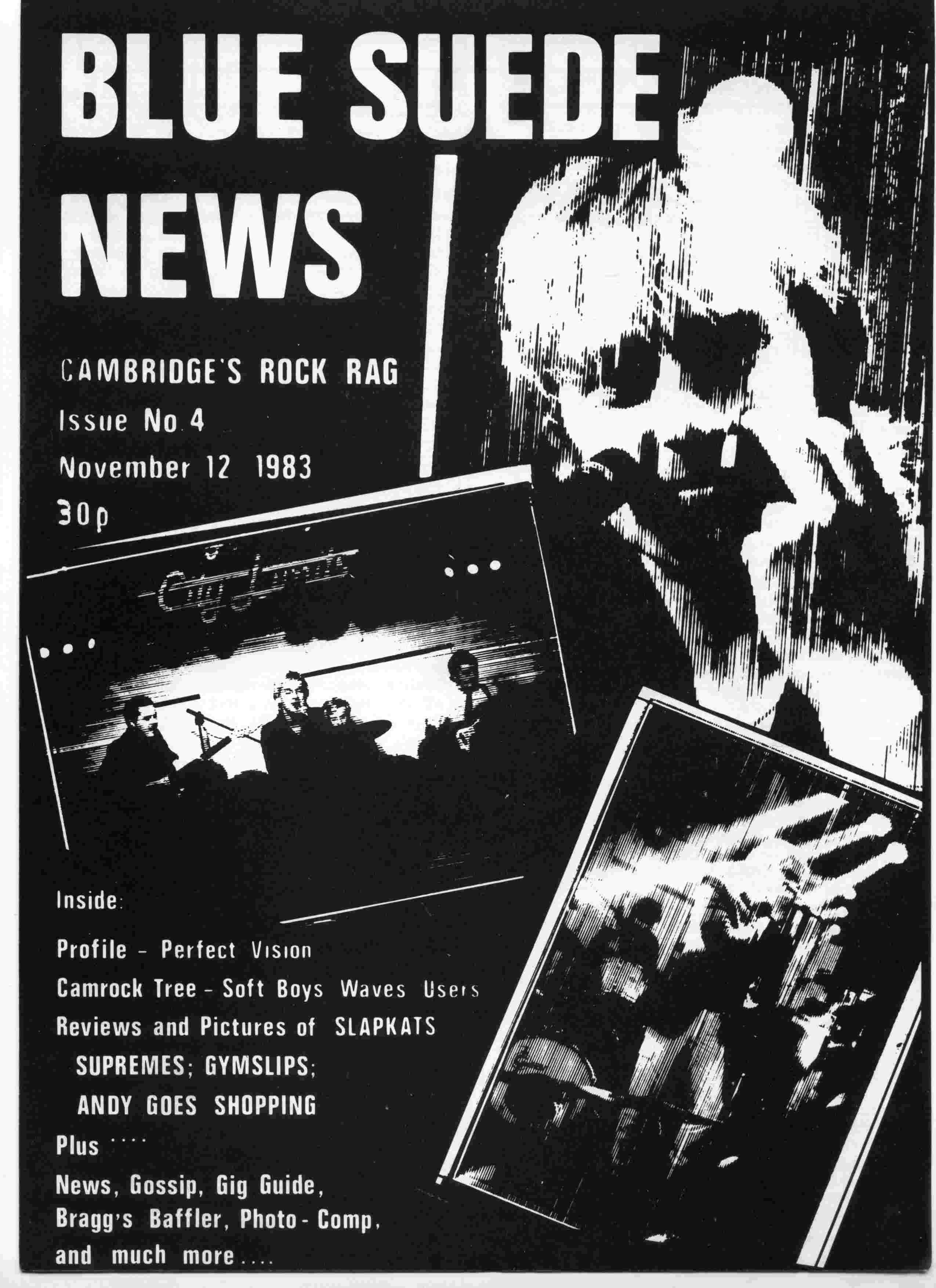 Cover of Blue Suede News Issue 4