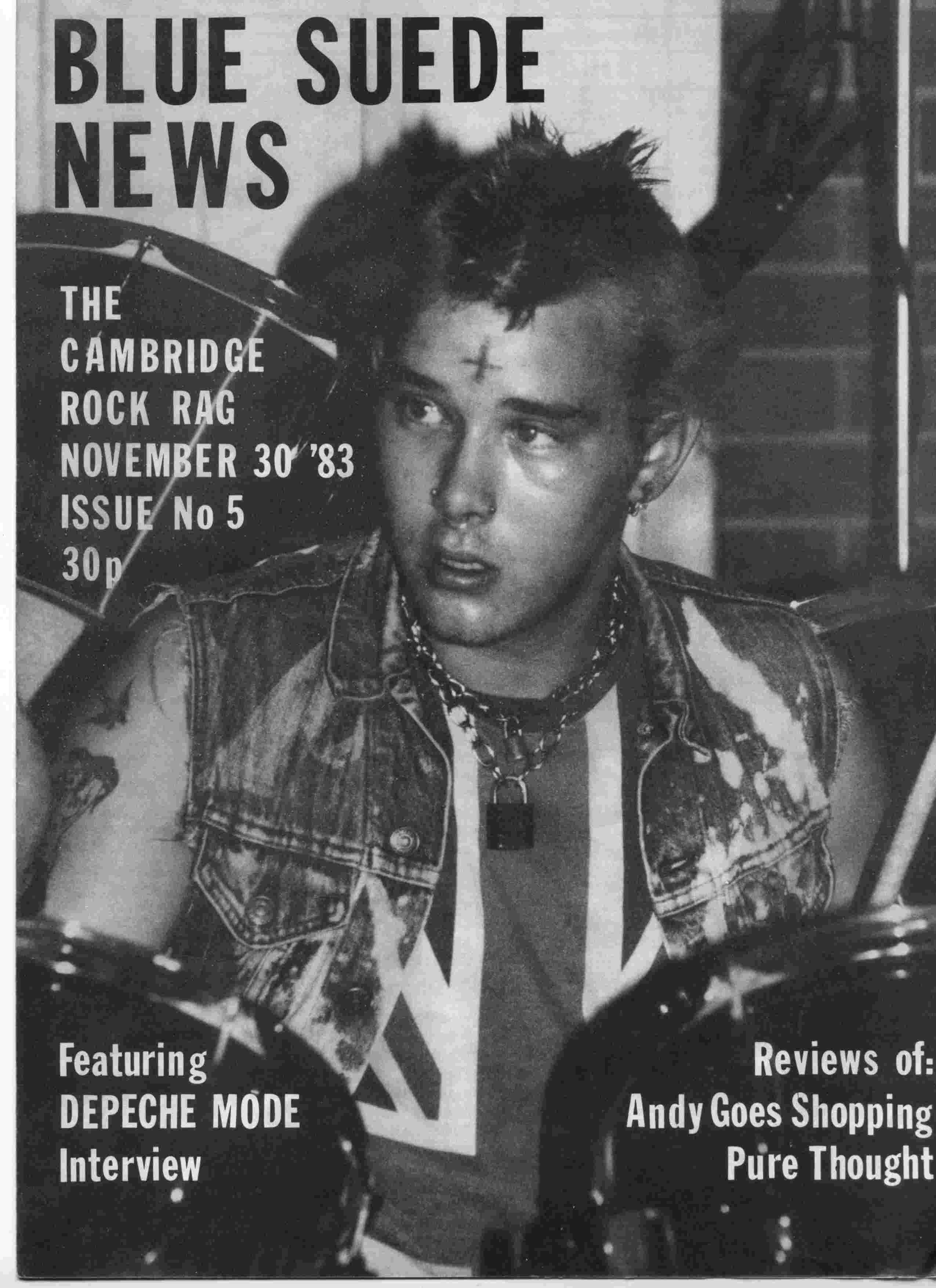 Cover of Blue Suede News Issue 5