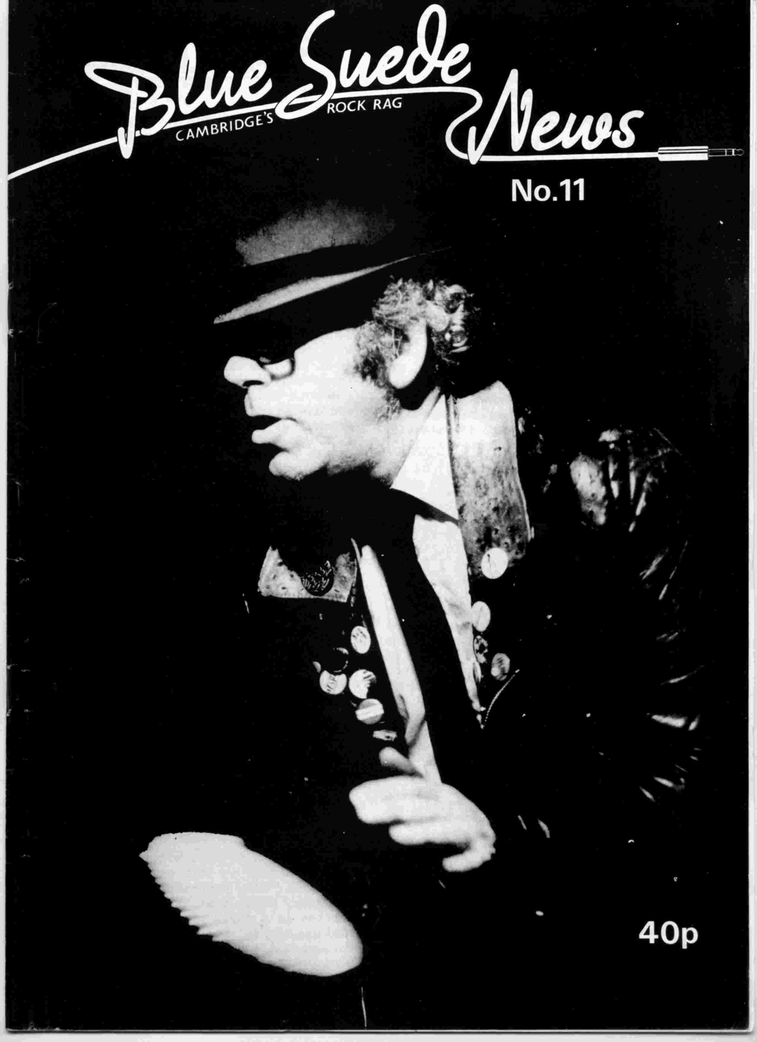 Cover of Blue Suede News Issue 11