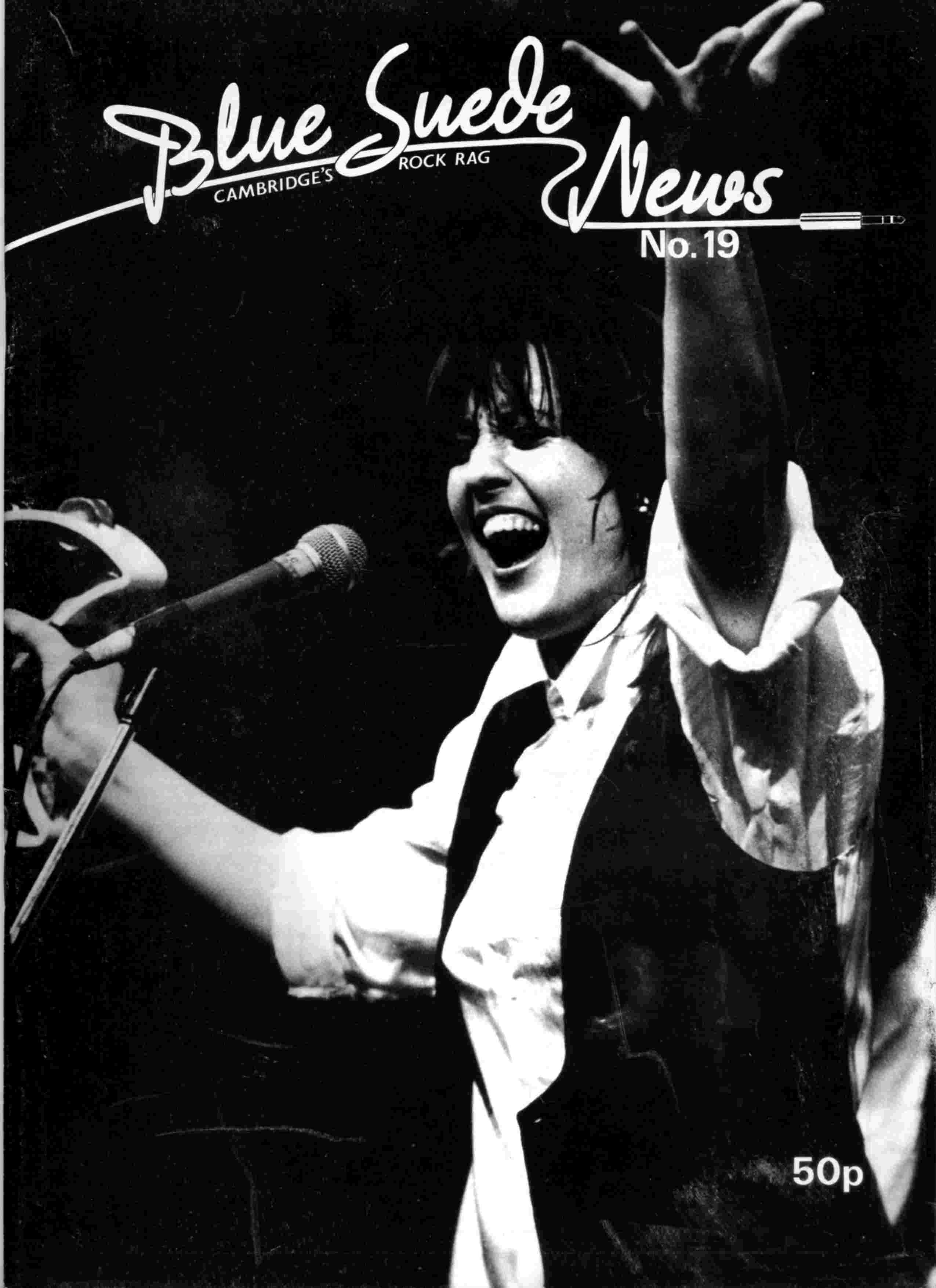 Cover of Blue Suede News Issue 19