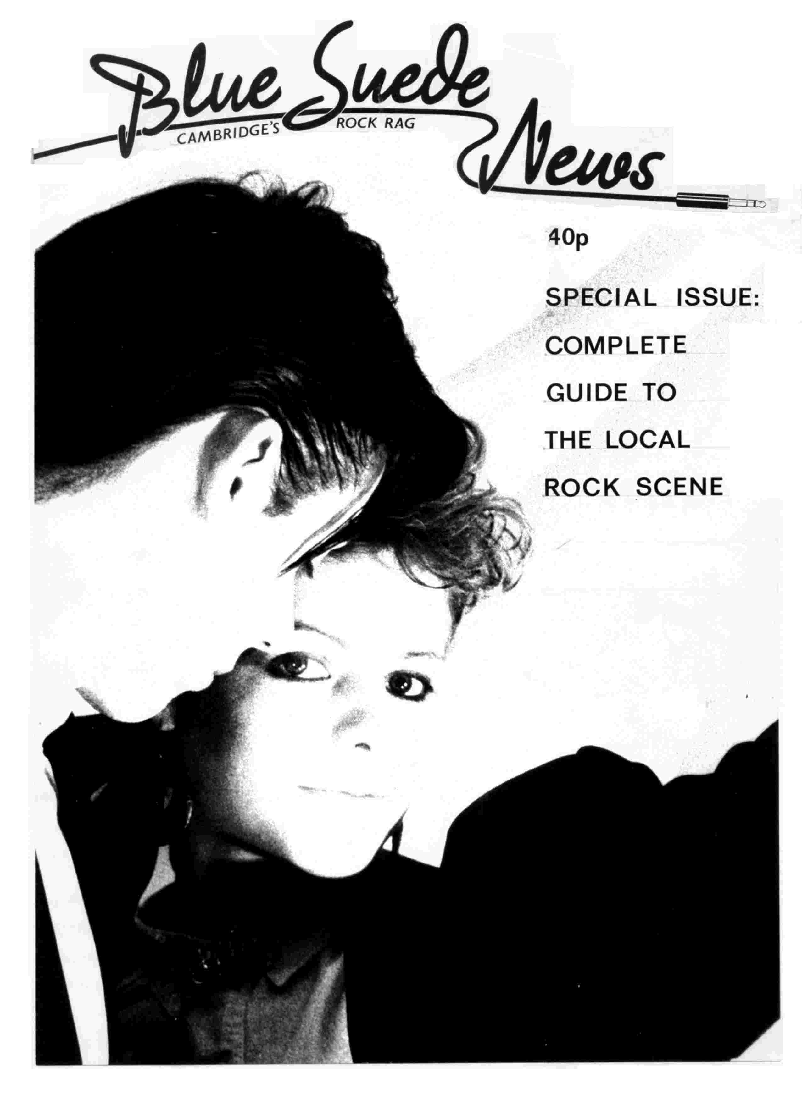 Cover of Blue Suede News Issue 21