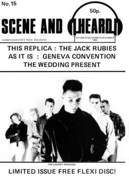 Cover of Scene and Heard Issue 15