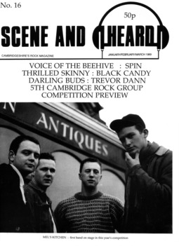 Cover of Scene and Heard Issue 16