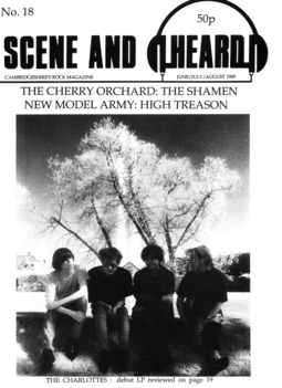Cover of Scene and Heard Issue 18