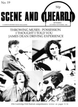 Cover of Scene and Heard Issue 19