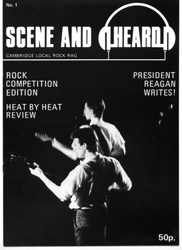 Cover of Scene and Heard Issue 1
