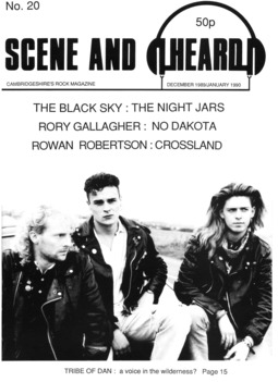Cover of Scene and Heard Issue 20