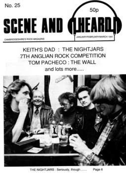 Cover of Scene and Heard Issue 25