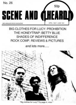 Cover of Scene and Heard Issue 26