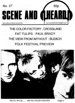 Cover of Scene and Heard Issue 27