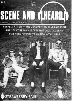 Cover of Scene and Heard Issue 3