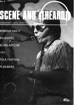 Cover of Scene and Heard Issue 4