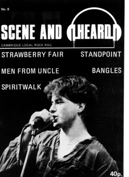 Cover of Scene and Heard Issue 8