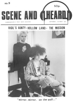 Cover of Scene and Heard Issue 9
